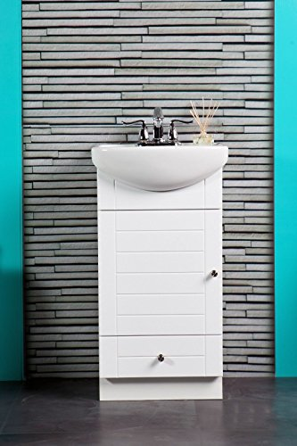 Small Bathroom Vanity Cabinet White Key Pieces