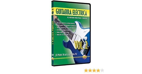 Amazon.com: Guitarra Electrica, Vol 2: Tu Puedes Tocar La Guitarra Ya! (Spanish Language Edition) (DVD): Rogelio Maya: Movies & TV