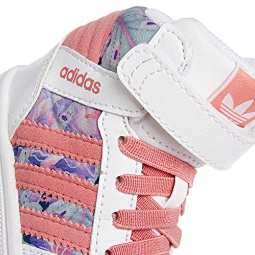 adidas Pro Play 2 CF I - Zapatillas unisex Blanco / Rosa / Morado