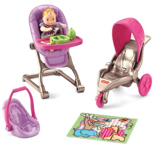 - Fisher-Price Loving Family Everything for Baby