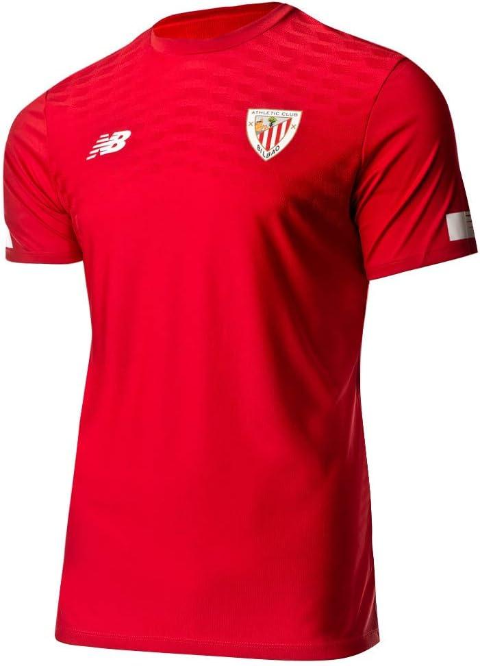 New Balance - Athletic Bilbao Camiseta Calentamiento RO 19/20 Hombre Color: Rojo Talla: S: Amazon.es: Deportes y aire libre
