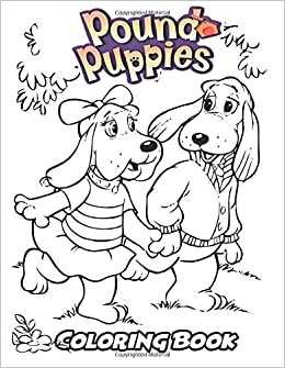 Amazon.com: Pound Puppies Coloring Book: Coloring Book for Kids and ...
