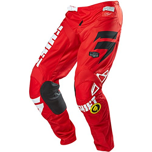 Shift Racing Strike Men's Off-Road Motorcycle Pants - Red / Size - Pants Strike Shift