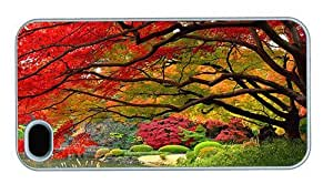Hipster durable iPhone 4S covers japanese garen autumn PC White for Apple iPhone 4/4S