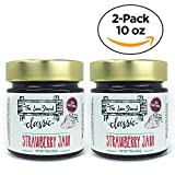 The Jam Stand, Classic Strawberry Jam, 10 oz. (Pack of 2)