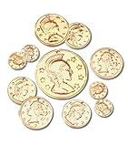Darice(R) Aluminum Coins - 72PK/Gold