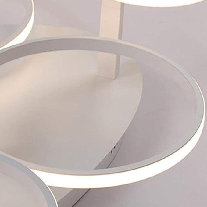 Amazon.com: BOSSLV Lámpara de techo de 6 anillos, diseño de ...