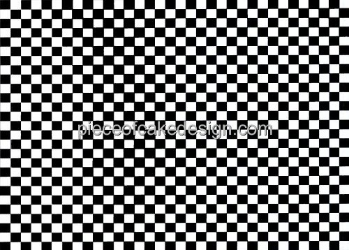 Price comparison product image 1 / 4 ~ Small Checkerboard Pattern Birthday ~ Edible Image Cake / Cupcake Topper!!!