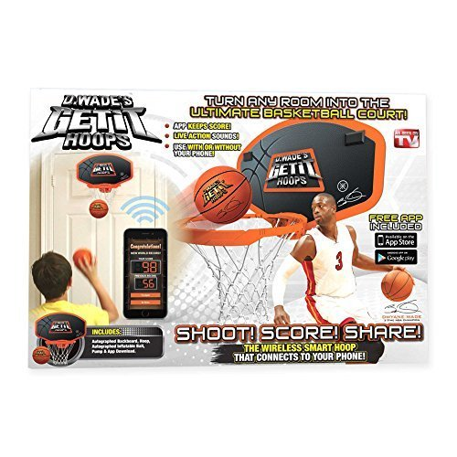 Dwayne Hoops Wade - D. Wade's Get it Hoops | As Seen on TV | Measures 16.93