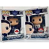 Funko Toronto Maple Leafs Exclusive Auston Matthews Home and Away Jersey Pop Vinyl Figures Set of 2