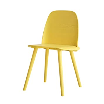 Amazon.com - ZJM- Colorful Dining Room Kitchen Chair Cafe ...