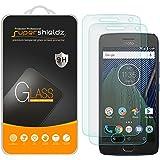 "[2-Pack] Supershieldz for Motorola ""Moto G5 Plus"" / Moto G Plus (5th Generation) Tempered Glass Screen Protector, Anti-Scratch, Anti-Fingerprint, Bubble Free, Lifetime Replacement Warranty"