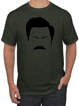 Bigtige Parques y Aficionados del Ron Ron Swanson Moustache ...
