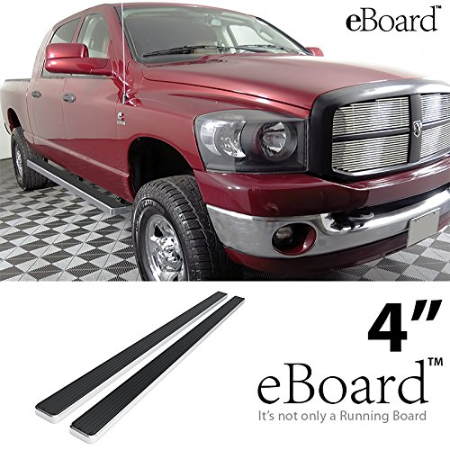 eBoard Running Boards Silver 4