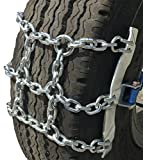 TireChain.com 245/70-19.5, 245/70 19.5 Ratchet Strap Emergency Tire Chains