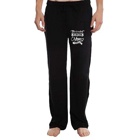 HSNiiY - Pantalones de chándal para Hombre con Bolsillos con ...