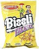 Bissli Falafel Flavored Crunchy Wheat Snack - No Food Coloring or Preservatives, 2.5oz Bag (Pack of 12)