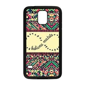 Custom Lion King Hakuna Matata Design Plastic Case for Samsung Galaxy S5 hjbrhga1544