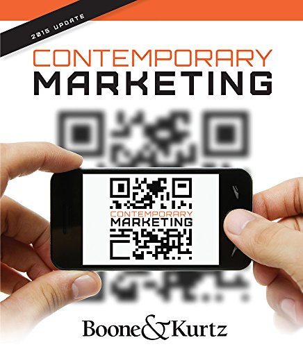 Boone/Kurtz' Contemporary Marketing, Update 2015, 16th Edition plus 4-months instant access to MindTapTM Marketing. (Contemporary Business 16th Edition By Boone And Kurtz)