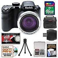 KODAK PIXPRO AZ421 Astro Zoom Digital Camera with 16GB Card + Case + Flex Tripod + Kit