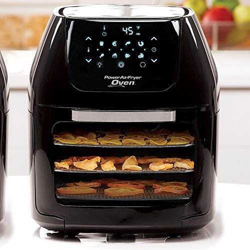 Power Air Fryer Oven Plus 7 In 1 Cooking Features With Professional Dehydrator And Rotisserie