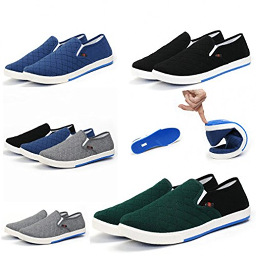 Slip Mocassin on Bleu Femme Travail Low top Classique Sneaker De Chaussures Unisexe Juleya Casual Homme Respirant Plates 7HqXnPa