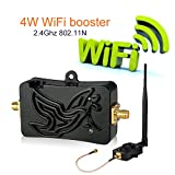 Wifi Signal Booster 2.4Ghz 4W 802.11 Signal Extender Wifi Repeater Broadband Amplifiers for Wireless Router, with 5dBi Antenna