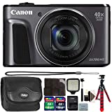Cheap Brand New! Canon PowerShot SX720 HS 20.3 MP 40X Optical Zoom Digic 6 Processor Wifi / NFC Enabled Digital Camera Black with 24GB Accessory Kit