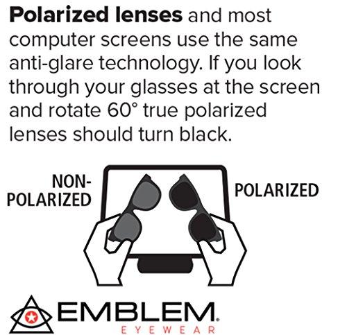 La Eyewear Polarisée Soleil Lentille Vert Nouveaux Hommes Emblem à Cadre Miroir Objectif Femmes Lunettes De Cool Vintage De Rétro Mode d1gtXU