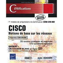 Cisco : Notions de base sur les réseaux