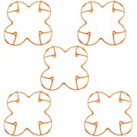 5 pcs Plastic Protection Cover for Hubsan H107 H107L V252 RC Quadcopter (Orange)