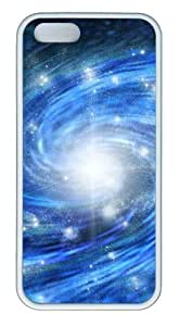 Galactic TPU White design iphone 5S covers for Apple iPhone 5/5S