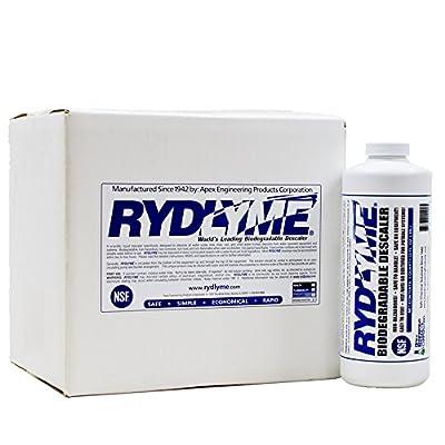 RYDLYME Biodegradable Descaler 32oz Quart 6-Pack