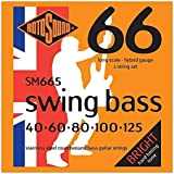 Rotosound SM665 Swing Bass 66 Stainless Steel 5 String Bass Guitar Strings (40 60 80 100 125)