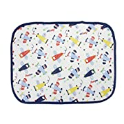 FakeFace Home Travel Baby Infant Cotton Waterproof Diaper Changing Mat Machine Washable Reusable Bassinet Bedding Urine Nursing Incontinence Mattress Portable Baby Changing Pad Cover Sheet Protector