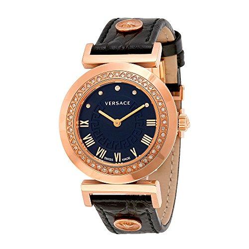Versace-Womens-P5Q84SD009-S009-Vanity-Analog-Display-Swiss-Quartz-Black-Watch