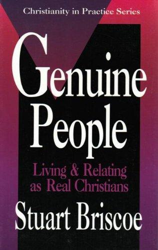 Genuine People (Christianity in Practice Series) PDF