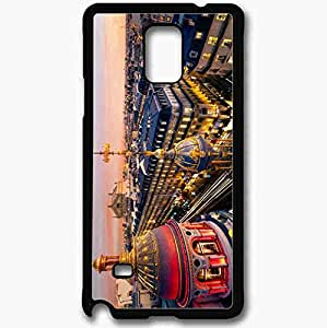 Unique Design Fashion Protective Back Cover For Samsung Galaxy Note 4 Case Grand Op Black