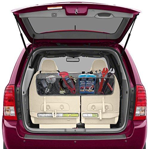 backseat trunk organizer by lebogner 5 pocket auto interior perfect car organizer trunk. Black Bedroom Furniture Sets. Home Design Ideas