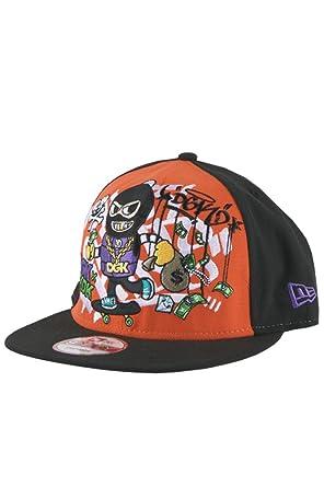 1493f92f Amazon.com: Tokidoki DGK Ghetto Vandal Snapback Hat Cap Men: Clothing