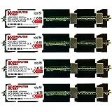 Komputerbay 16GB (4x 4GB) DDR2 PC2-6400F 800MHz ECC Fully Buffered FB-DIMM (240 PIN) 16 GB w/ MAC Heatspreaders RAM Memory APPLE MAC PRO 2008 3,1 (2.8 3.0 3.2) (DDR2 800MHz PC2-6400 ECC FBDIMM)