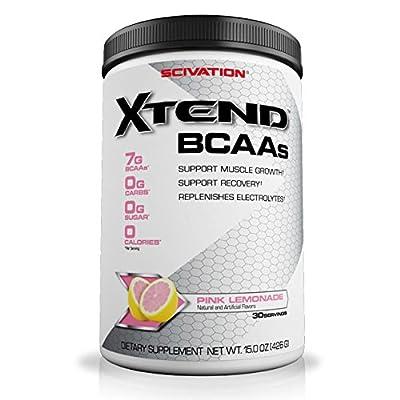 Scivation Xtend Diet Supplement, Pink Lemonade, 15 Ounce