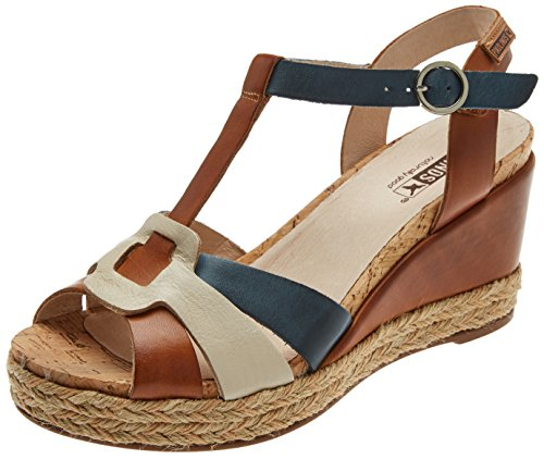Brandy Bar Women's Sandals Mojacar Brown T W7r Pikolinos avg6qHS