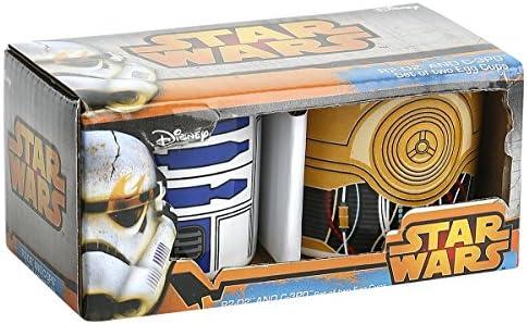 STAR WARS 599386031/ R2D2/und C3PO /Eierbecher-Set