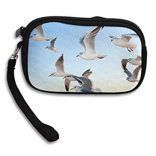 Receiving Seagulls Purse Printing Ocean Portable Above Deluxe Bag Small Waves SSqaCB8