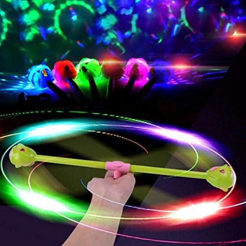 Flash Flash Toy, Ikevan Hot Creative Chlidren Shiny Glowing Toys Rotating Projection Magic Flash - Nine Sunglasses Number