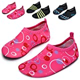 L-RUN Kids Water Shoes Aqua Socks Beach Pool Yoga Pink US 11-11.5=EU 28-29