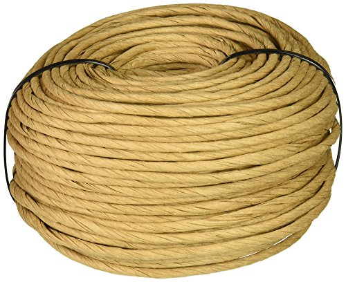 Commonwealth Basket FR632K2 Fibre Rush 6/32-Inch 2-Pound Coil, Kraft (approximately 210-Feet)