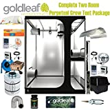 Complete Two Room Perpetual Grow Tent Kit w/600W Sealed HPS, Filter, Fan & more Review