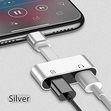 Vazan - 2 en 1 para el Adaptador de Rayos para iPhone 7 ...